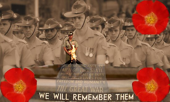 We Will Remember Them 11/11 by Michelle Shoosmith