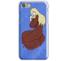 The Lady -with background- iPhone Case/Skin