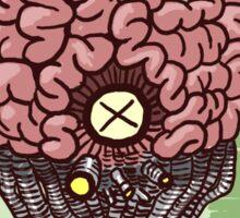 Kill All Brains Sticker