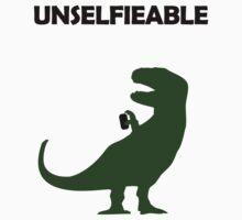 Unselfieable T-Rex Kids Clothes