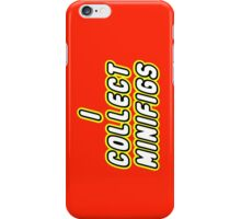 I COLLECT MINIFIGS  iPhone Case/Skin
