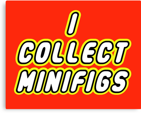 I COLLECT MINIFIGS  by ChilleeW