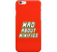 MAD ABOUT MINIFIGS iPhone Case/Skin