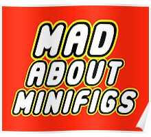MAD ABOUT MINIFIGS Poster