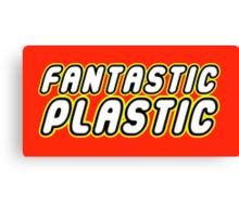 FANTASTIC PLASTIC Canvas Print