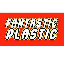 FANTASTIC PLASTIC Photographic Print