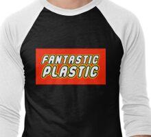 FANTASTIC PLASTIC Men's Baseball ¾ T-Shirt