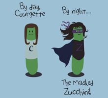 Courgette and The Masked Zucchini: double-life of a vegetable superhero Kids Clothes