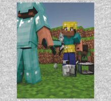 Minecraft Fight Scene Kids Clothes