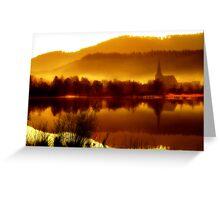 Morning light Greeting Card