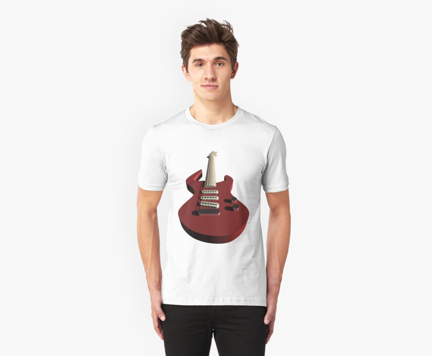 Bass guitar by queensoft