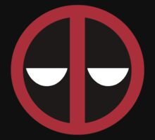Bored Deadpool Icon  Kids Clothes