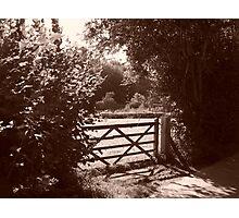 Gateway to serenity Photographic Print