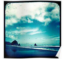 Surreal Seaside Poster