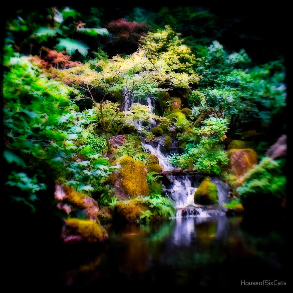 Waterfall Dream by HouseofSixCats