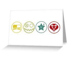 Killjoys Symbols Greeting Card