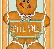 Bite Me Gingerbread Man by SpiceTree