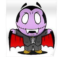Halloweenies Vampire Poster