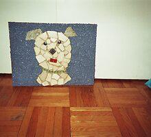 doggie mosaic by gary wenc