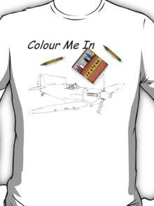 Colour Me  Spitfire 1 T-Shirt