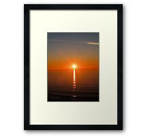 San Francisco Sunset 1425 Framed Print