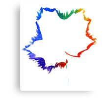 Imprint of Maple Leaf 2 Canvas Print