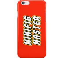 MINIFIG MASTER iPhone Case/Skin