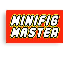 MINIFIG MASTER Canvas Print