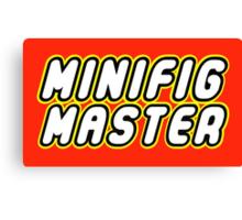 MINIFIG MASTER Canvas Print
