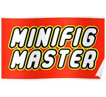 MINIFIG MASTER Poster