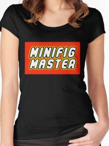 MINIFIG MASTER Women's Fitted Scoop T-Shirt