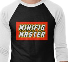 MINIFIG MASTER Men's Baseball ¾ T-Shirt