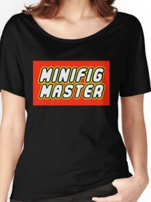 MINIFIG MASTER Women's Relaxed Fit T-Shirt