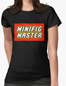 MINIFIG MASTER Womens Fitted T-Shirt