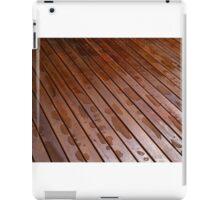 Beautiful mahogny hardwood floor iPad Case/Skin