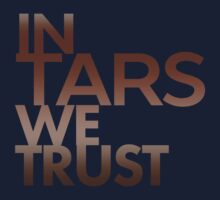 Inspired by Interstellar - In TARS We Trust by davidtoms