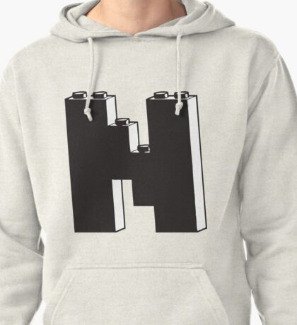 THE LETTER N Pullover Hoodie