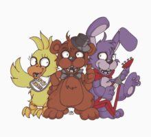 Freddy and the Gang by InkyBlackKnight