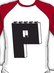 THE LETTER P T-Shirt