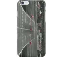 The Red Arrows Take Off - Wheels Up iPhone Case/Skin
