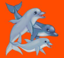 Dolphin Family Kids Clothes
