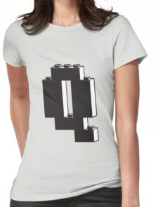 THE LETTER Q Womens Fitted T-Shirt