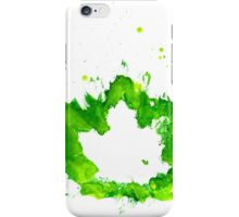 Imprint of Maple Leaf 6 iPhone Case/Skin