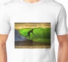 Bells Beach Green Unisex T-Shirt