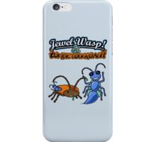 Jewel Wasp & Zombie Cockroach iPhone Case/Skin