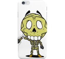 Halloweenies Skeleton iPhone Case/Skin