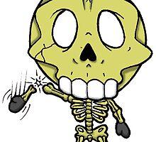 Halloweenies Skeleton by darkartz