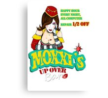 Moxxi's UP OVER Canvas Print