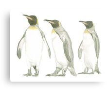 """Penguins"" Metal Print"