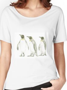 """Penguins"" Women's Relaxed Fit T-Shirt"